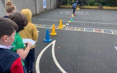 Orienteering in PE!